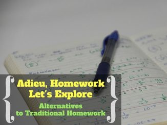 Adieu, Homework