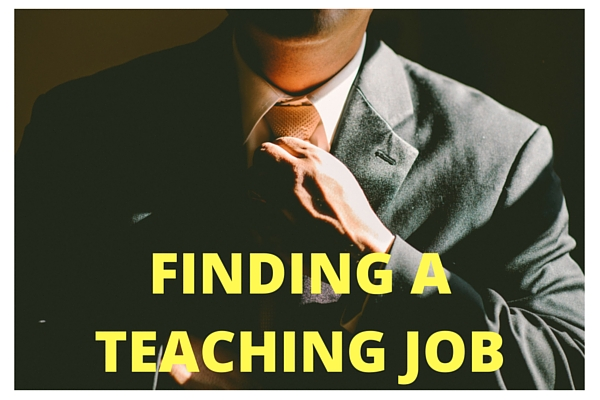 Finding a Teaching Job